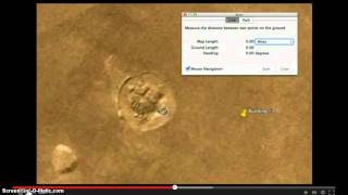 Google Earth, Structures Discovered On Mars, June 2013, Please read Description!