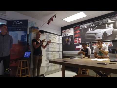 FIAT Chrysler Automotive design project at  DASH School Miami