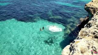 Cliff Jumping Mallorca - Summer 2016   SportsAction!