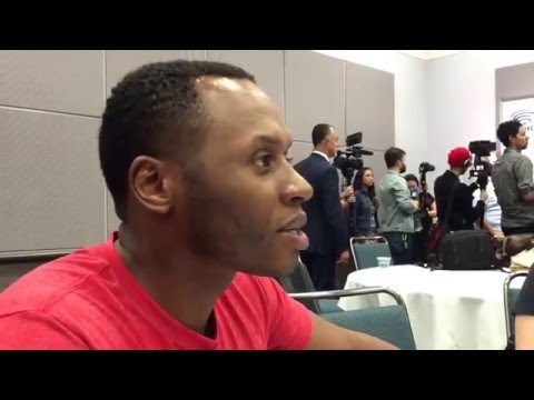 Malcolm Goodwin talks Clive Babineaux on iZombie at Wondercon 2016!