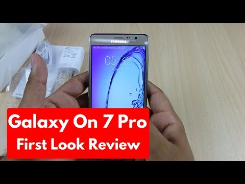 Samsung Galaxy On7 Pro Unboxing | First Look Hands On Review