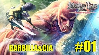 Shingeki no Kyojin (attack on titan): humanity in chains #01 - tutorial (3DS)