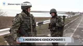 Ukrainian Checkpoints Advance in Crimea: Russian border guards retreat from occupied Kherson lands