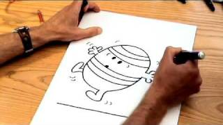 How to Draw the Mr Men characters - MR BUMP