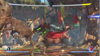 Injustice 2: Bane bounce combo meterless