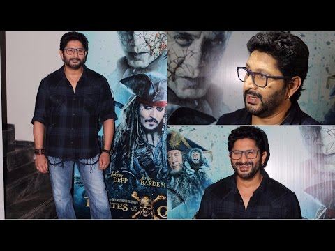 Arshad Warsi Interview During Promotion Hindi Version Of Pirates of the Caribbean: Salazar's Revenge