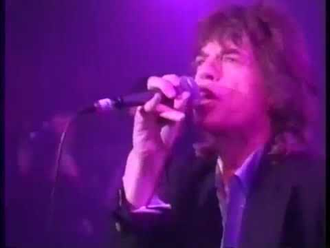 ROLLING STONES Mick Jagger Webster Hall NYC 1993 Full Show