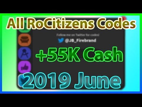 Rocitizens Codes 2020 List.All Codes For Rocitizens 20 Codes 2019 June