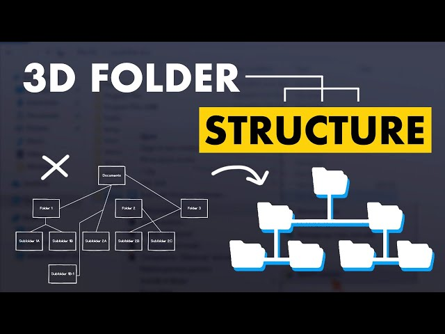 Learn How to Master Your 3D Project Folder Structure (+ free template)