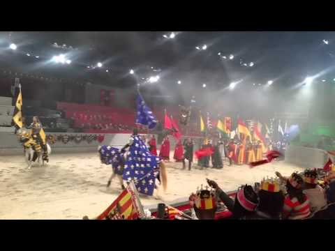 Medieval Times Experience @ Dallas TX  HD QUALITY