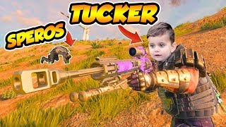 CoD BLACKOUT | i GOT SAVED BY AN 8 YEAR OLD!!! (iNSANE CLUTCH BY TUCKER)