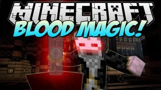 minecraft  BLOOD MAGIC! (The Ultimate Evil Wizard!)  Mod Showcase 1.6.2