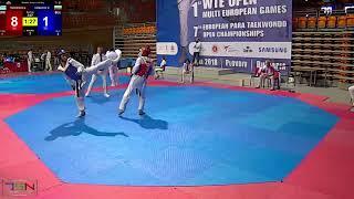 317  SENIORS MALE  63 kg, KOBAKOV, DIMITAR BUL vs  TSOKANOS, ALEXIOS GRE 2 10