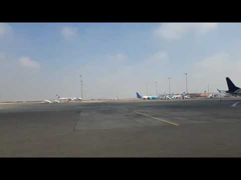 On our way to our Air Sinai plane, Cairo International Airport, Egypt (part 1)