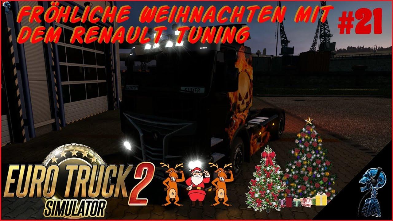 EURO TRUCK SIMULATOR 2 - Let\'s play - Fröhliche Weihnachten mit dem ...