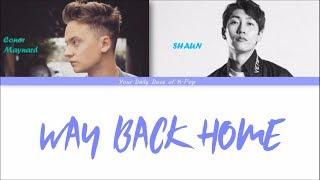 Download SHAUN - Way Back Home ft. Conor Maynard Color Coded Lyrics HAN ROM ENG