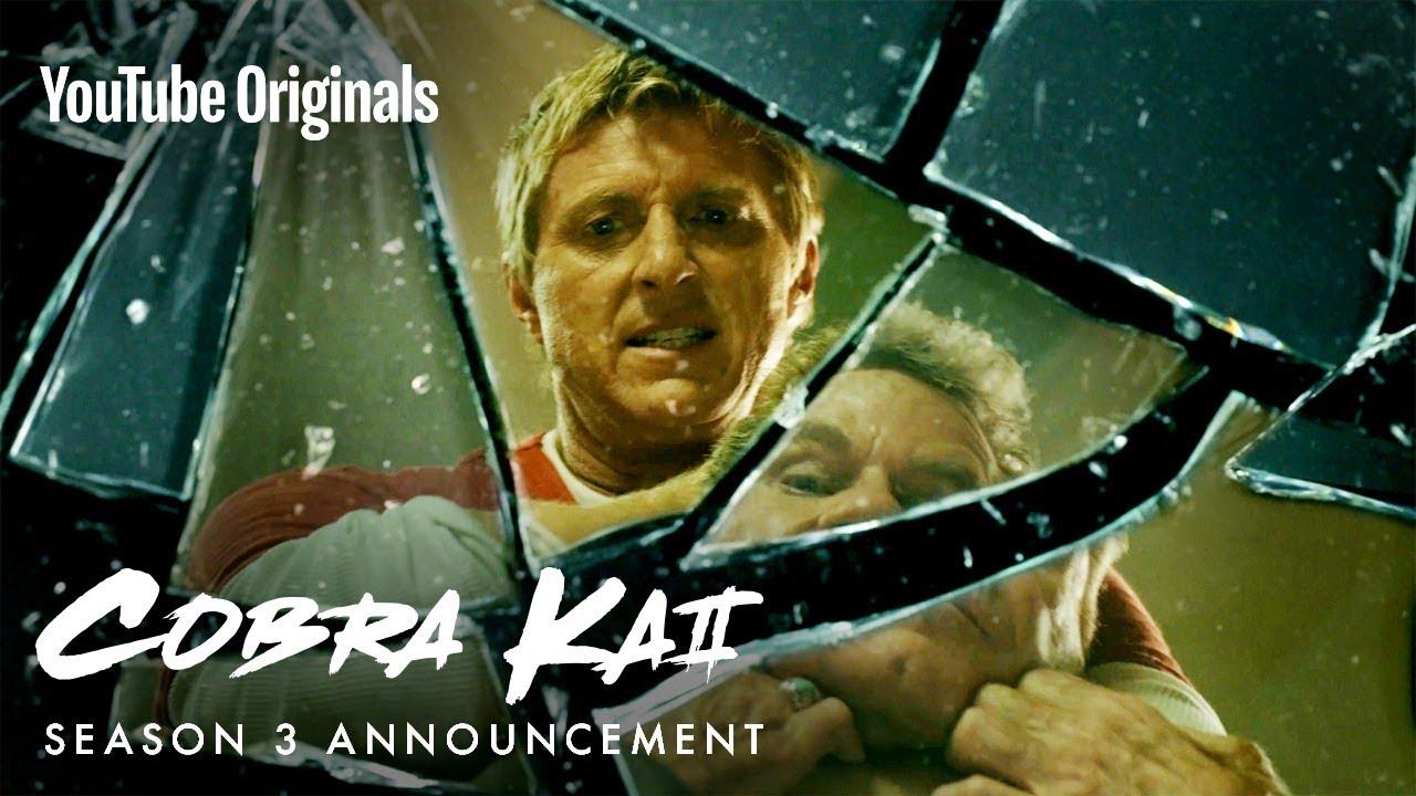 You Want It. You Got It. Cobra Kai Season 3 Announcement! - YouTube