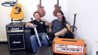 Orange Crush Pro 60w & 120w Amps - Bigger, Louder, Better?