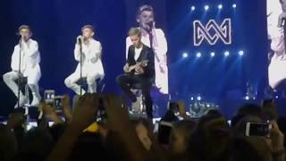 Marcus was crying on stage - Heartbeat
