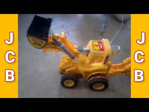 DIY hydraulic jcb || HOMEMADE TOY JCB MADE BY A 5 YEARS OLD KID