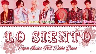 Download Lagu Super Junior(슈퍼주니어) – Lo Siento (Feat. Leslie Grace) [Color Coded Lyrics Han/Rom/Eng] Mp3