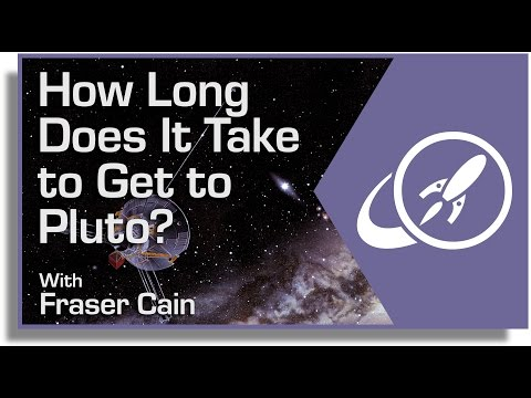 How Long Does It Take to Get to Pluto?
