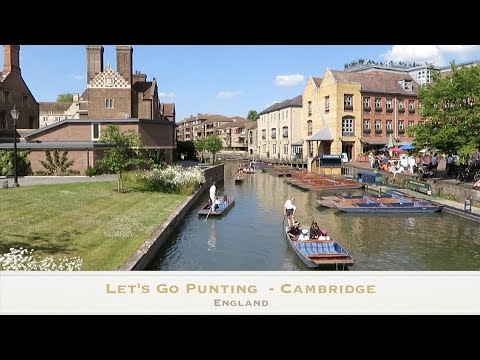 Lets Go Punting In Cambridge