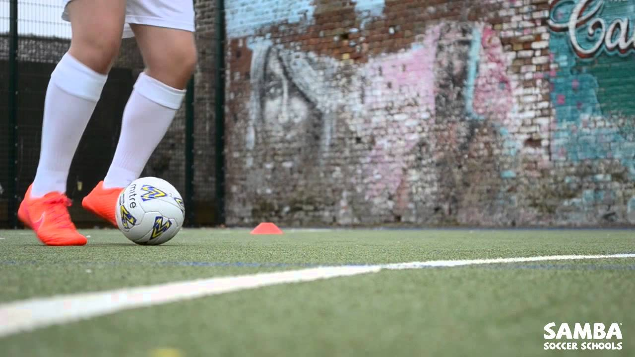 fa71912b5b Samba Soccer Skills  Sole Drag - YouTube