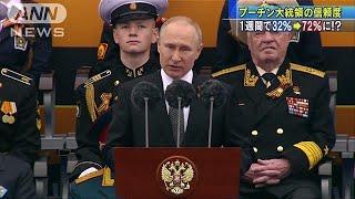 プーチン大統領の信頼度が1週間で2倍に(19/06/01)