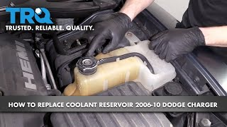 Aluminum Coolant Expansion Recovery Overflow Tank//Bottle Replacement for 05-10 Charger//Challenger//Chrysler 300