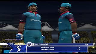 CSK vs DC - 5 Overs IPL Cricket Match Part 1 || EA CRICKET 19 PC Gameplay