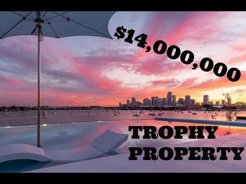 $14 MILLION Dollar Miami Beach Mansion TOUR; Villa Venetian!