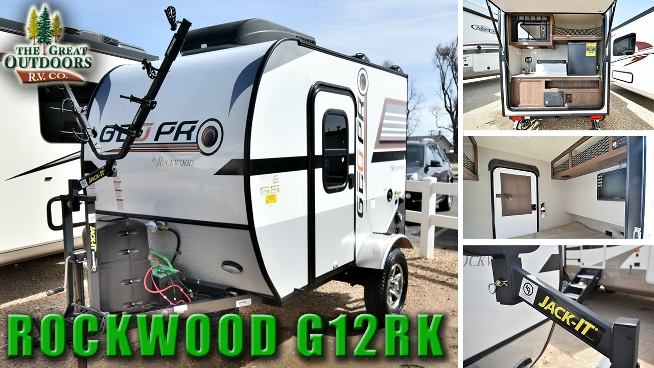 2018 Forest River Rockwood G12rk R1070 Colorado Rv Dealer