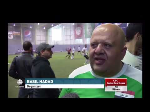 CBC taking about Younes soccer academy winning Canadian soccer Arab league 2016/2017