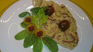 Омлет с кальмарами Быстрый завтрак / Omelet with squids Quick breakfast