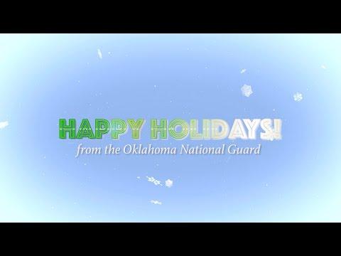 Happy Holidays from the Oklahoma National Guard