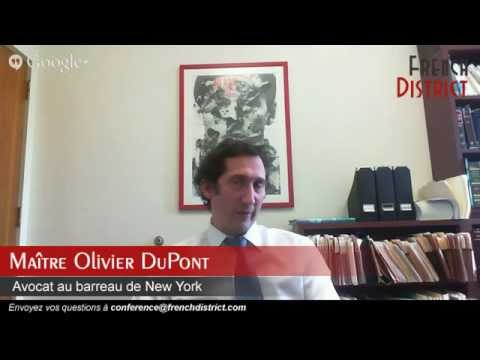 Webconférence FD de Maître Olivier Dupont : Le pacte d'associés aux Etats-Unis, quelles problémat...