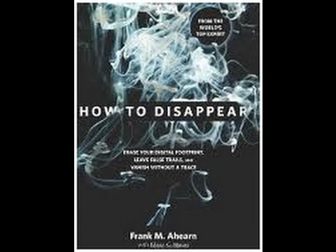 how to disappear ahearn frank m