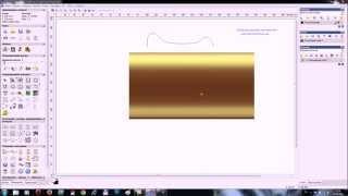 Видео урок моделируем багет в artCAM