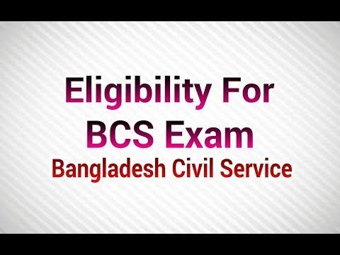 Eligibility for BCS Exams