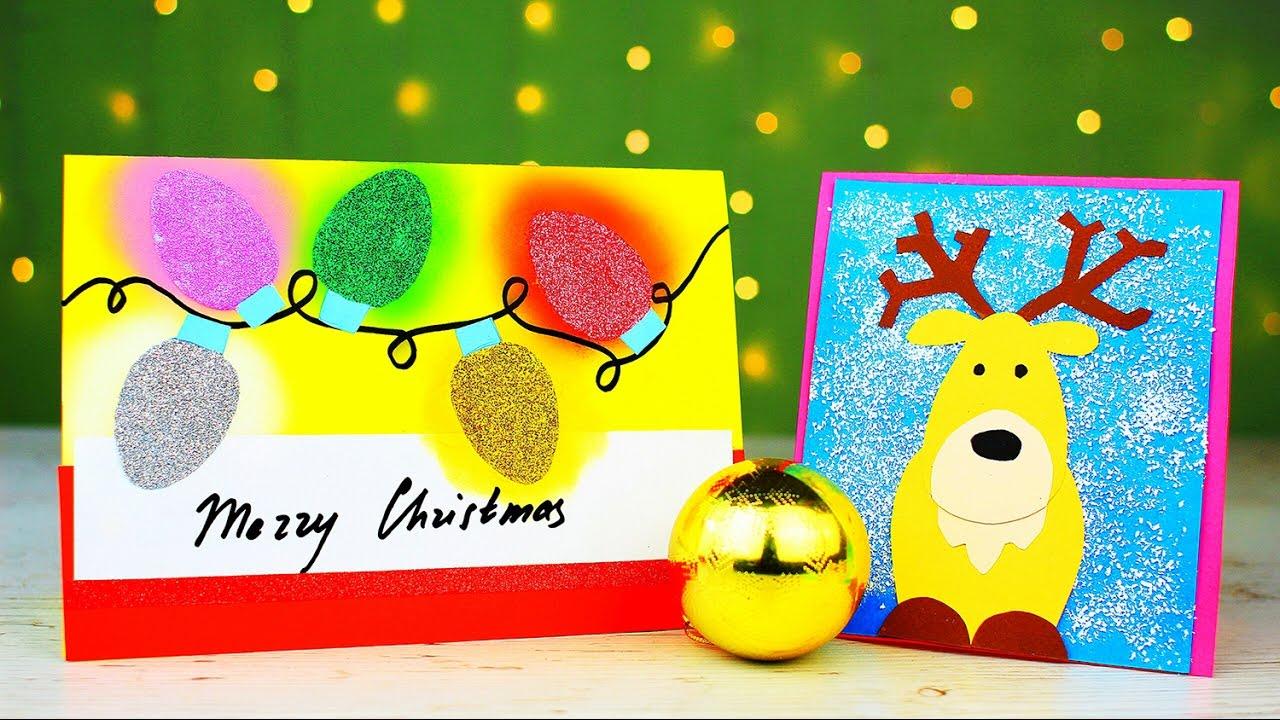 6 diy christmas card ideas youtube 6 diy christmas card ideas solutioingenieria Choice Image