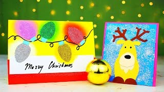 6 DIY Christmas Card Ideas