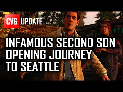 Infamous: Second Son Opening - The Journey to Seattle