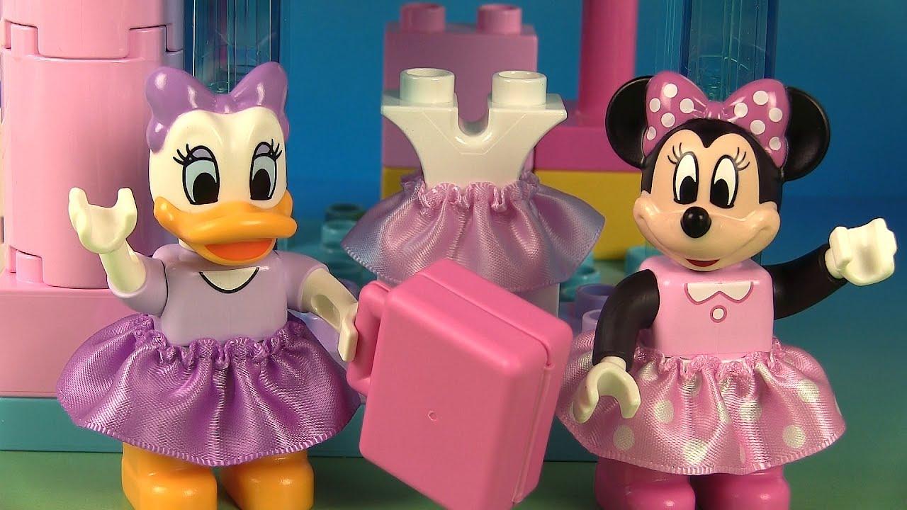 minnie mouse lego duplo la boutique de rubans de minnie. Black Bedroom Furniture Sets. Home Design Ideas