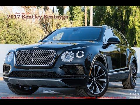 Bentley Bentayga Rental Slideshow
