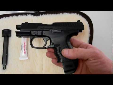 Walther CP99 Compact Review, .177 cal BB blowack pistol CO2 345 FPS