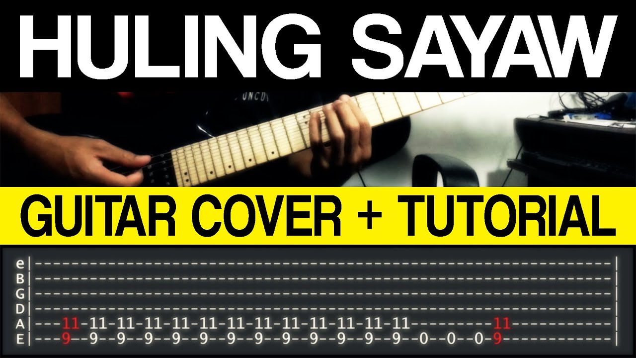 huling sayaw kamikazee guitar cover tutorial with tab youtube. Black Bedroom Furniture Sets. Home Design Ideas
