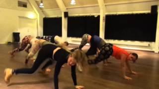 Twerk for let øvet med Louise (twerk queen) ved ElStudio.dk (gruppe 1)