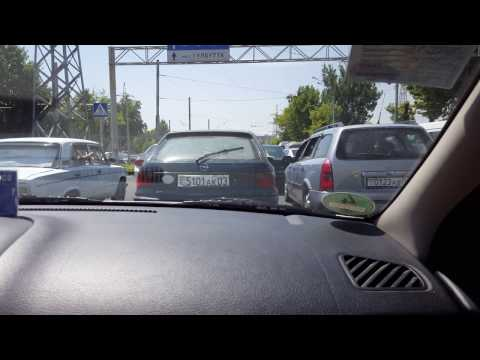 CRAZY Driving in Dushanbe, Tajikistan!
