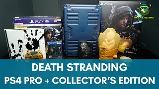 Unboxing: Death Stranding Collector's Edition + Limited Edition PlayStation 4 Pro